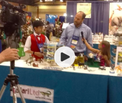 Kid Reporter: Bali Bare at Toy Convention in Phoenix